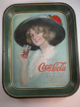 Coca-Cola 1912 Tray Rectangle Full Size Original Authentic Hamilton King - $222.75