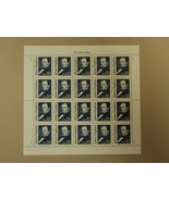 USPS Scott 2194 $1 1989 John Hopkins Full Sheet 20 Stamps Mint NH - $72.97