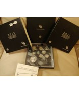 2013 U.S. Mint Limited Edition Silver Proof Set Box Slip Cover COA  - $168.25