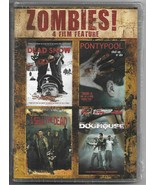 Zombies! 4 Film Feature Dead Snow I Sell the Dead Doghouse DVD COMPLETE ... - $19.69