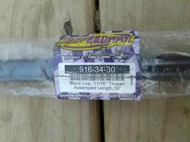 """Speedway 916-34-30 black link 11/16 thread 30"""" image 2"""