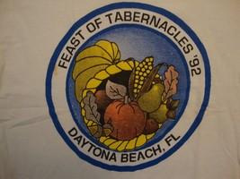 Vintage Feast Of Tabernacles 1992 Daytona Beach, Florida Souvenir T Shirt Size M - $11.87
