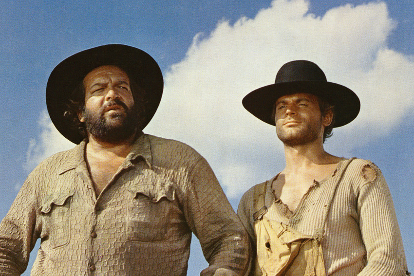 Primary image for Terence Hill and Bud Spencer in Lo chiamavano Trinit?. They Call Me Trinity 1970