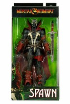NEW Mortal Kombat Spawn With Sword McFarlane Toys Action Figure From Game - $59.39