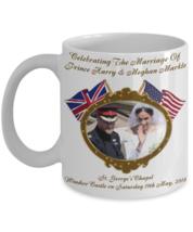 Prince Harry And Meghan Markle Commemorative Wedding Coffee Mug - $14.84+