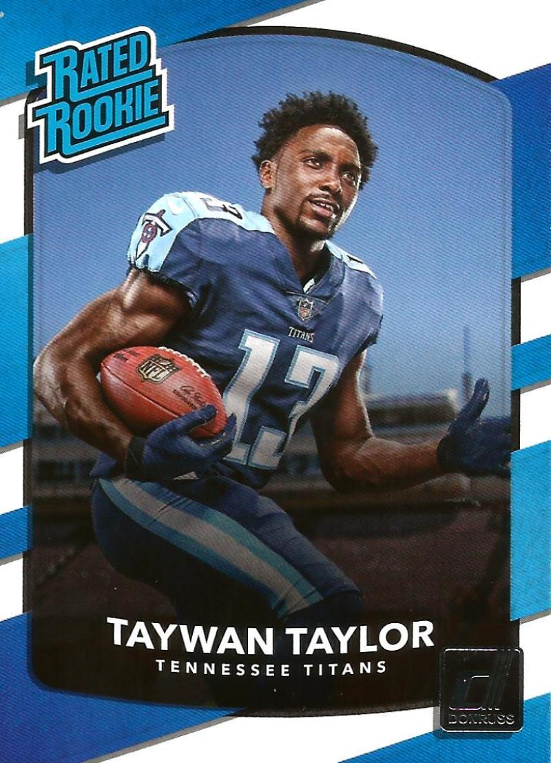 Primary image for 2017 Donruss #315 Taywan Taylor NM-MT Titans Rated Rookie