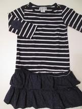 Aphorism Kid Girl's Dress Size 7 Blue & White Cute Ruffle Bottom!!! #W6 - $12.99