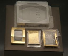 NIB Gucci  Replacement Case Set - 7800 L - GP - Regular Size - $99.95