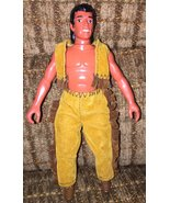 Vintage Collectible Hard Plastic Native American Indian Boy Doll - $8.00