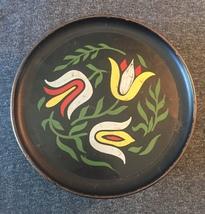 Vintage 50s Guildcraft floral tin