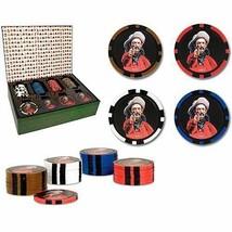 Accoutrements Texas Hold'em Poker Chips Cowboy Gunslinger 2 box 120 tota... - $12.16