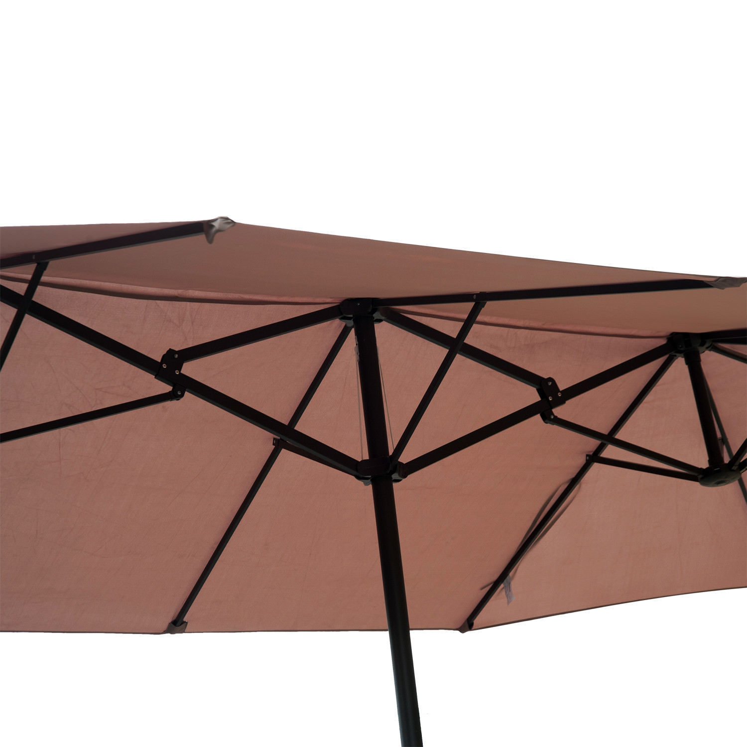 15\' Double-Sided Patio Umbrella Twin Sun and 50 similar items