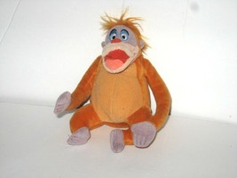 "Disney Jungle Book King Louie Brown Orange Monkey Mini Plush 5"" - $19.59"