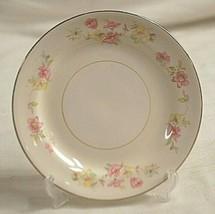 Homer Laughlin Eggshell Nautilus Bread & Butter Plate Multi Color Flowers USA - $12.86