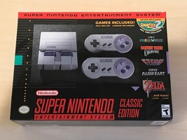 SNES Classic Edition Super Nintendo, NEW, FREE INSURED SHIPPING - $187.11