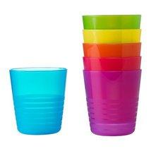 Ikea Kalas 101.929.56 BPA-Free Tumbler, Assorted Colors, 6 Count, Pack of 2 - $14.07