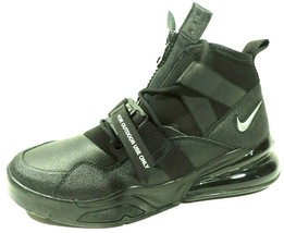 Nike Air Force Max 270 Utility Mens Shoes Athletic AQ0572 002/ 400 Black Lth  image 1