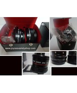 Assorted 35M Camera Lens & Case Y.I.C. & Sakar Wide Angle & Telephoto - $19.99