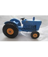 Matchbox Ford Tractor no 39 All Blue Yellow Wheels Lensey  - $16.82