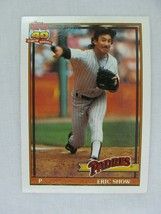 Eric Show San Diego Padres 1991 Topps Baseball Card 613 - $0.98