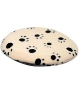 Pet Supply Imports-SnuggleSafe Heatpad Cover, Tan With Black Paw Print - $17.58