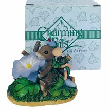 Charming Tails figurine mouse Fitz Floyd anthropomorphic Grown on Me flo... - $28.98