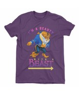 I'm A Beauty With A Beast Children's Unisex Purple T-Shirt - $13.28