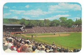 Doubleday Field Cooperstown NY Baseball Hall of Fame Game Peter Hollis Postcard - $5.99