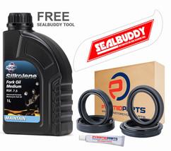 Fork Seals Dust seals Silkolene Oil + TOOL For: Suzuki GSX1300 R Hayabusa 99-15 - $37.61
