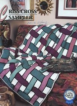 Criss-Cross Sampler Afghan Annie's Crochet Pattern/Instructions Leaflet - $5.37