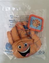 McDonalds 2017 Emoji Hi-5 Hand Plush Promo Sony Pictures Animation Childs Toy - $4.99