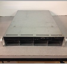 SuperMicro 1U H8DMU+ Dual Opteron Quad Core 2.3Ghz CPU 8GB RAM 8-Bay Server - $130.00