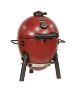 Outdoor Charcoal Grill Red Compact Beach Camping Garden Backyard Cooker ... - $175.99