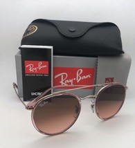 New RAY-BAN Sunglasses Round Double Bridge Rb 3640-N 9069/A7 Pink Bronze Copper - $179.95