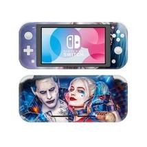 Nintendo Switch Lite Console Vinyl Skin Sticker Harley Quinn Joker Suicide Squad - $9.70