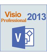 Microsoft Visio 2013 Professional 32/64 Bit Key & Download - $244,46 MXN