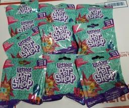 Hasbro Littlest Pet Shop Wear It Ring Series 1 Blind Bag Lot of 10 New  - $37.61