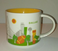 Dallas Starbucks Mug / You Are Here YAH / 2012 / 14 oz / Coffee Tea - $26.18