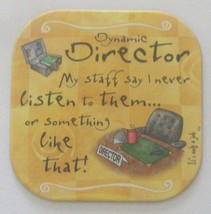 """It's only a job Coaster - """" Director """". - $2.58"""