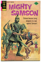 Mighty Samson 28 VF+ 6.5 Gold Key 1975 Post Apocalypse Science Fiction  - $13.85