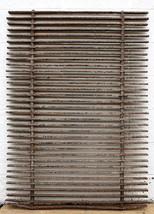 35x48 Antique Vintage Cast Iron Metal Gate Fence Panel Grille Industrial... - $237.49