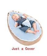 Just a Cover! Dropshipping Portable Infantil Bean bag for Feeding With S... - $38.90