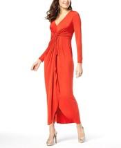 Thalia Sodi Women's NEW Long-Sleeve High-Low Maxi Dress Voltage Red $99 ... - $34.64