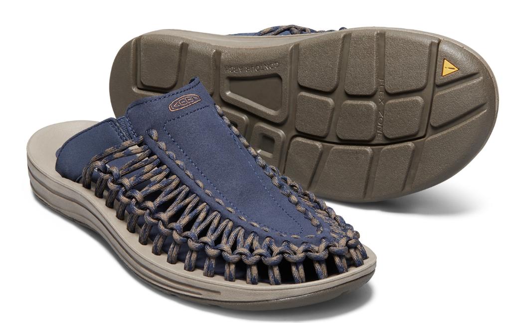 Keen Uneek Glissière 9 M (D) 42 Homme Sport Glissière Sandales Vêtement Bleu