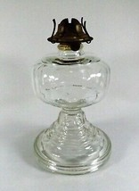 Antique EAPG Oil Lamp Stockton P & A Burner Beautiful Cond.! c.1900 US G... - $44.55