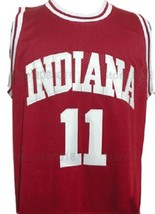 Isiah Thomas #11 College Basketball Jersey Sewn Maroon Any Size image 4