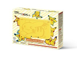 Nintendo 3DS XL Pikachu Yellow Limited Edition Console NEW MINT - $267.25