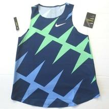 Nike Women PRO Elite AeroSwift Running Singlet - CZ1032 - Blue 492 - S -... - $69.95