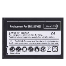 1600mAh Replacement Battery for Blackberry Curve 9220 / 9320 - $30.34