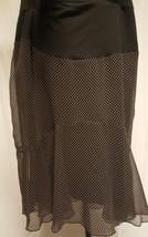 Motherhood Maternity Brown Polka Dot Skirt XL extra large Career - $15.47